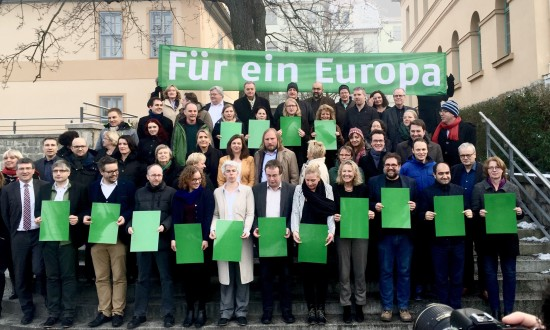 GRÜNE Fraktionsklausur in Weimar.