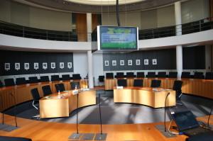 Sitzungssaal im PLH