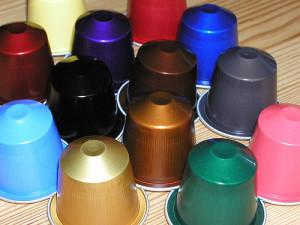Schön bunt, aber leider gar nicht nachhaltig: Kaffeekapseln (© CC sera78/Flickr)