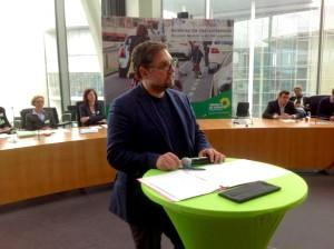 Grüne Fahrradkonferenz mit Peter Meiwald