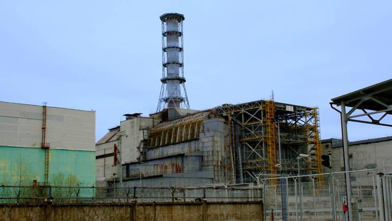 Am 26. April 1986 explodierte der Block 4 des Atomkraftwerks Tschernobyl. © picture alliance / dpa