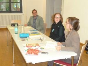 v.r.n.l.: Anja Humburg, Dr. Julia Verlinden MdB & ich