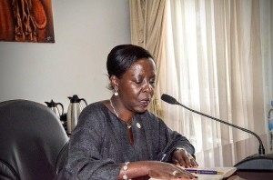 Besuch bei der rwandischen Außenministerin