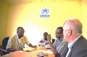 UNHCR-Büro in Kirehe