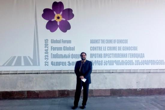 Auf Einladung Armeniens waren ReligionsvertreterInnen, NGOs und Politikerinnen - darunter auch ich - zur einer Konferenz in Jerewan im April 2015 eingeladen.