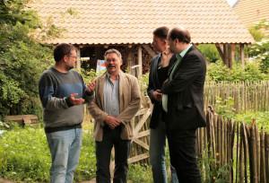 GRÜNE Gespräche darüber, wie Ottmar, Tammo, Christian und ich die Agrarwende umsetzen.