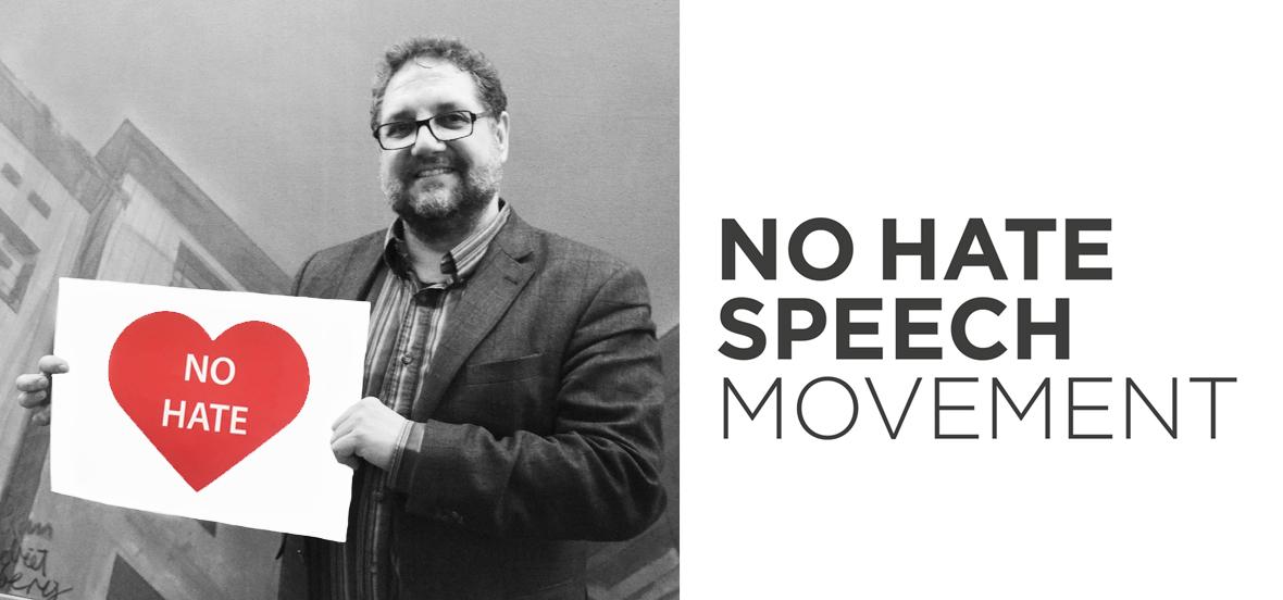 Peter unterstützt No-Hate-Speech