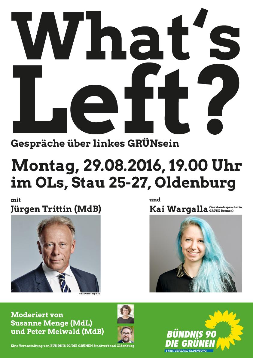What's Left-plakat