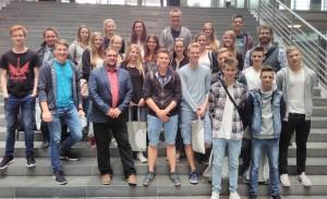 Schüler*innen aus Westerstede zu Gast
