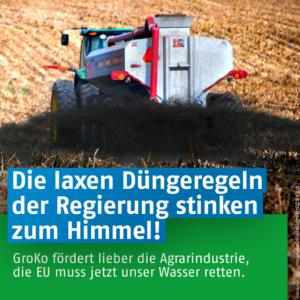 Gutes Wasser wird in Deutschland immer mehr zur Seltenheit.