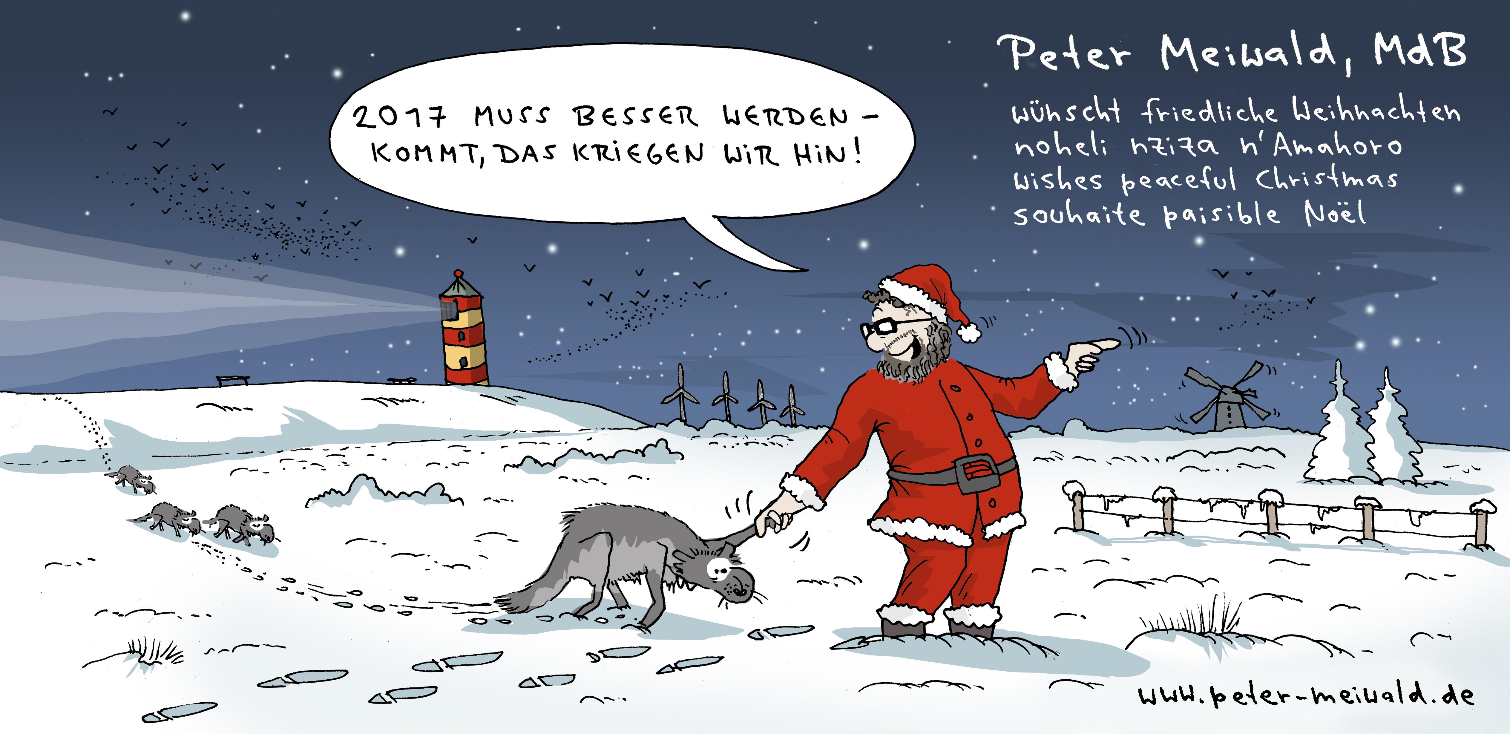 Peter Meiwalds Weihnachtsgrüße 2016