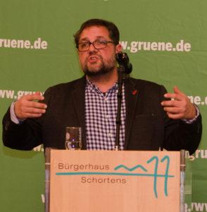 Peter Meiwald, MdB. beim Neujahsempfang in Schortens. Foto: Ingbert Grimpe