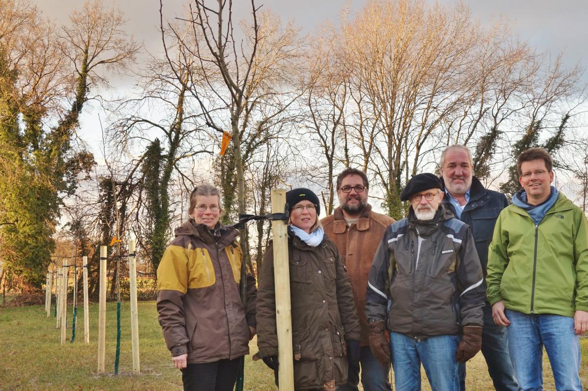 V.l.n.r.: Kerstin Rex, Petra Fuhr, ich (MdB), Bodo Herzfeld, Willi Oelschläger, Stefan Töpfel