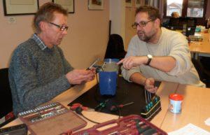 Reparateur Uwe Haferkamp, mein Toaster und ich