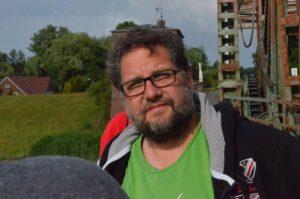 Dieses Foto entstand während meiner Sommertour 2015 auf der damals noch intakten Friesenbrücke bei Weener.