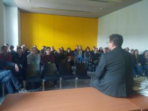 SchülerInnen der Anne-Frank Oberschule Meppen zu Gast im Bundestag