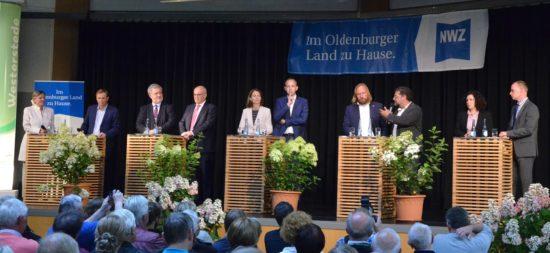 NWZ-Forum zur Bundestagswahl am 24.7.2017