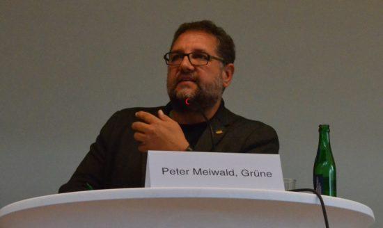 Peter Meiwald an der BBS Rostrup