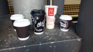 bald 3 Milliarden Coffee-to-go-Becher jährlich in Deutschland
